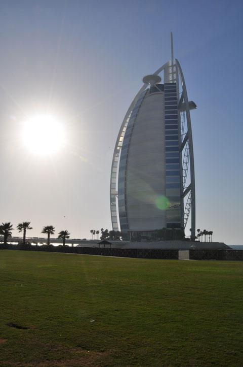 Cartão postal de Dubai Bur Al Arab Hotel